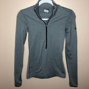 Nike Pro Dri-Fit Half-Zip - Grey